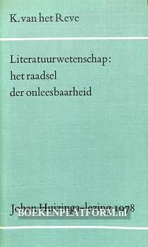Literatuur-wetenschap: het raadsel der onleesbaarheid