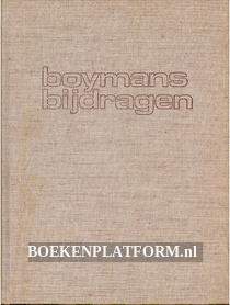 Boymans bijdragen
