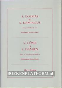 S. Cosmas en S. Dimianus in het naaldwerk van Hildegard Brom-Fisher