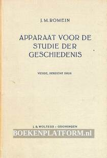 Apparaat voor de studie der geschiedenis