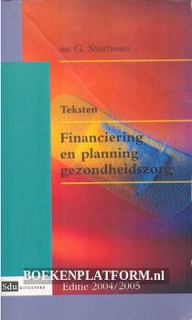 Financiering en planning gezondheidszorg