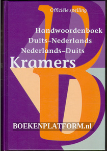 Kramers handwoordenboek Duits-Nederlands N-D