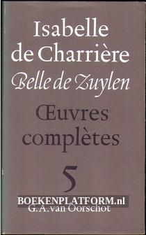 Isabelle de Charriere 5