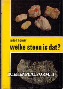 Welke steen is dat?