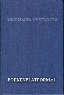 Bibliographia Musicologica