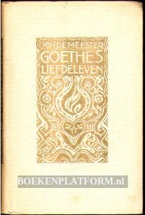 Goethe's liefdeleven