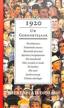 1920 Uw geboortejaar