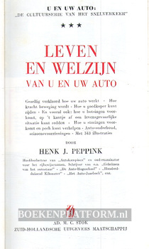 Leven en welzijn van u en uw auto