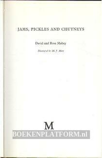 Jams, Pickles and Chutneys
