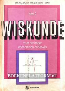 Wiskunde voor het hoger economisch onderwijs 2