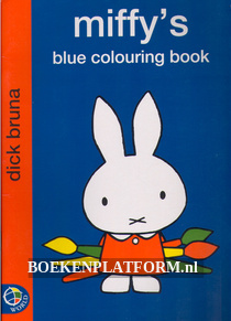 Miffy's Blue Colouring Book