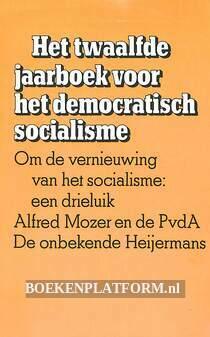 Het twaalfde jaarboek voor het democratisch socialisme