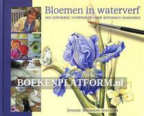 Bloemen in waterverf