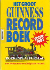 Het groot Guinness Recordboek 1982