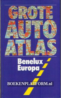 Grote autoatlas Benelux Europa