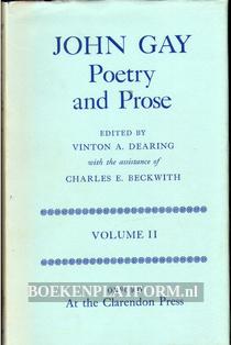 John Gay Poetry and Prose II