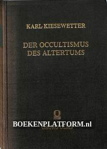 Die Occultismus des Altertums