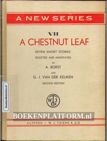 A Chestnut Leaf