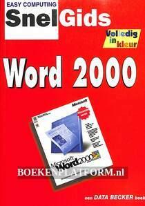 Snelgids Word 2000