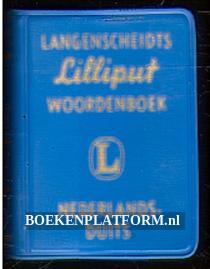 Langenscheidts Lilliput woordenboek Nederlands / Duits