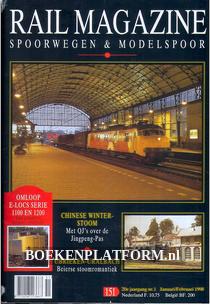 Rail Magazine, Spoorwegen en Modelspoor jaargang 1998