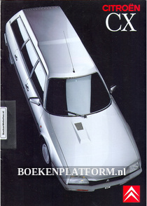 Citroen CX Break brochure