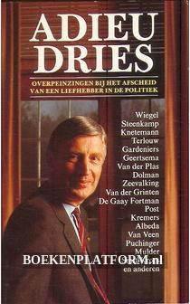 Adieu Dries