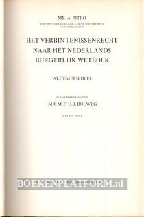Het verbintenissenrecht naar het Nederlandse Burgelijk Wetboek I