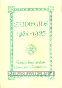 Studiegids 1984 - 1985