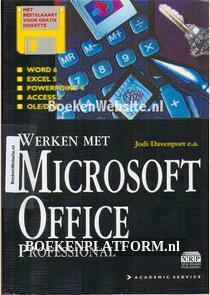 Werken met Microsoft Office Professional
