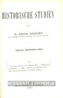 Historische studiën III - IV