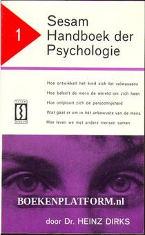 Sesam Handboek der Psychologie 1