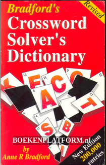 Crossword Solver's Dictionary