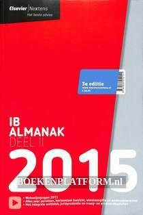 IB Almanak 2015 deel II