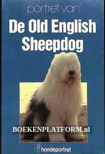 Portret van de Old English Sheepdog