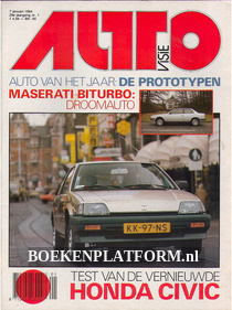 Autovisie 1984 Complete jaargang