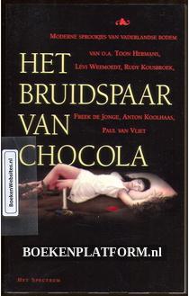 Het bruidspaar van chocola
