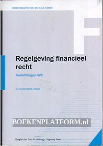 Regelgeving financieel recht Wft