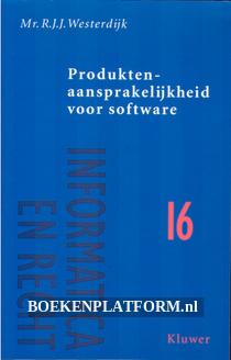 Produktenaansprakelijkheid voor software