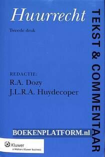 Huurrecht tekst & Commentaar