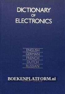 Dictionary of Electronics, meertalig