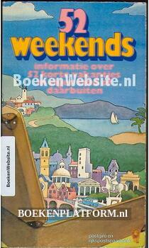 52 Weekends informatie over 52 korte vakanties