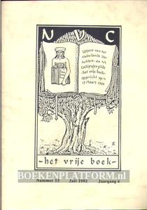 Het Vrije Boek 1992