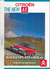 Citroen AX 1988 brochure