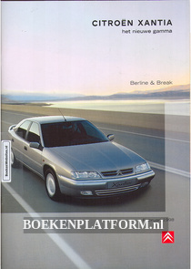 Citroen Xantia Berline & Break 1998 brochure