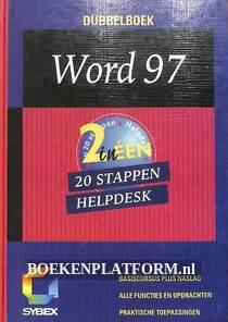 Dubbelboek Word 97