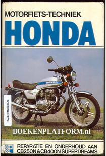 Motorfiets techniek Honda CB250N/400N