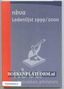 NBvA Ledenlijst 1999/2000