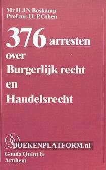 376 arresten over Burgerlijk recht en Handelsrecht
