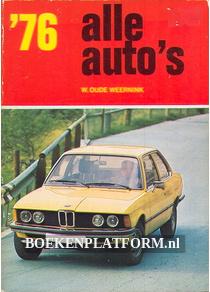Alle auto's 1976